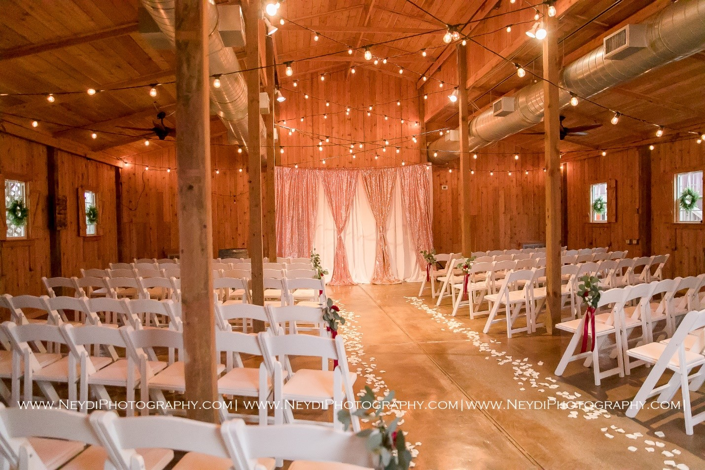 barn ceremony houston wedding